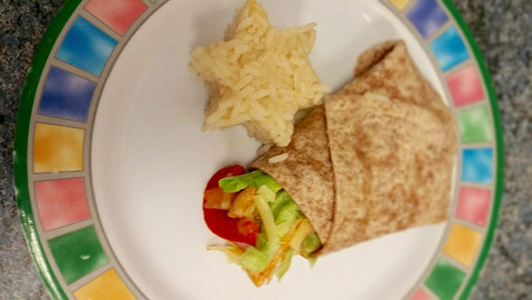 pre school meals at tots and juniors